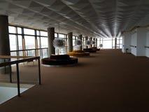 Insidan av den Lisinski teatern arkivfoton