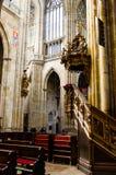 Inside świątobliwa vitus katedra 2 Zdjęcie Royalty Free