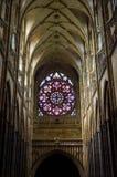 Inside świątobliwa vitus katedra 4 Zdjęcia Stock