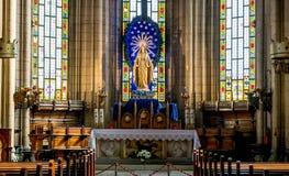 Inside świętego Antoine kościół w Taksim, Istanbuł zdjęcia royalty free