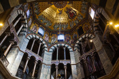 Inside the Aachen Cathedral Royalty Free Stock Images