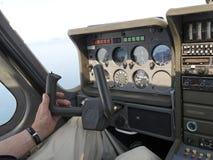 Inside aeroplane Royalty Free Stock Images