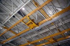 Inside Aerospace Production Facility Royalty Free Stock Photography