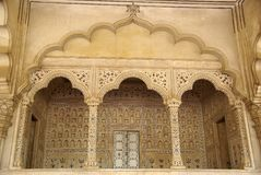 Inside Agra fort, India Stock Images