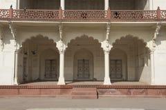 Inside Agra fort indu Zdjęcia Stock