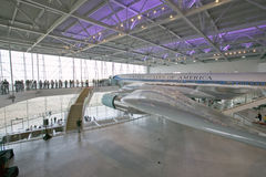 Inside the Air Force One Pavilion Stock Photography