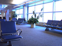 Inside an Airport Royalty Free Stock Image