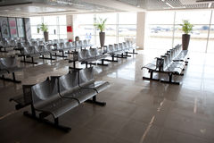 Inside the airport Royalty Free Stock Images