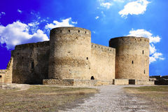 Inside Akkerman fortress Royalty Free Stock Images