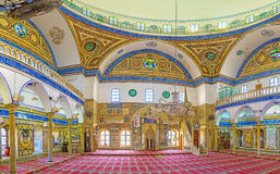 Inside of Al-Jazzar Mosque Royalty Free Stock Photos