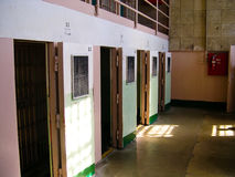 Inside Alcatraz Royalty Free Stock Photo