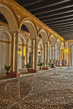 Inside a the Alcazar Reales Royalty Free Stock Photos