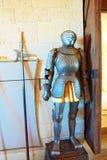 Inside Alcazar Segovia dosłownie, Segovia forteca jest cas Zdjęcia Royalty Free
