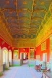 Inside Alcazar Segovia dosłownie, Segovia forteca jest cas Obrazy Royalty Free