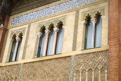 Inside the Alcazar of Seville, Spain Royalty Free Stock Photo