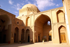 Inside Alexander's Prison. Building Alexander's prison in Yazd, Iran Stock Photography
