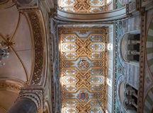Inside Altamura Cathedral. Royalty Free Stock Images