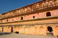 Inside. Amer Palace (or Amer Fort). Jaipur. Rajasthan. India Royalty Free Stock Photo