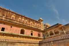 Inside. Amer Palace (or Amer Fort). Jaipur. Rajasthan. India Royalty Free Stock Image