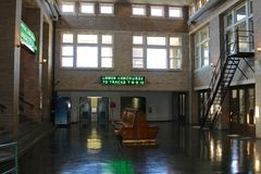 Inside the Amtrak Train Station Memphis, Tennessee. Royalty Free Stock Images