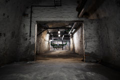 Inside An Old Industrial Building, Basement Stock Photos