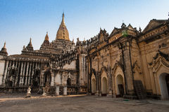 Inside Ananda temple, Bagan Royalty Free Stock Photos