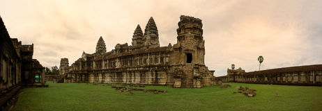 Inside Angkor Stock Photo