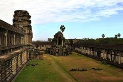 Inside of Angkor Wat Royalty Free Stock Photography
