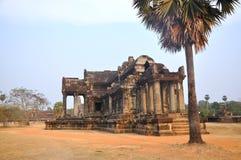 Inside Angkor Wat. Cambodia. Inside Angkor Wat. Cambodia in Asia Royalty Free Stock Photo