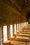 Inside of  Angkor Wat Royalty Free Stock Photography
