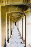 Inside of  Angkor Wat Royalty Free Stock Image