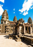 Inside of  Angkor Wat Stock Photography