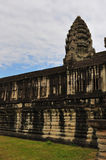 Inside of Angkor Wat, Side View Stock Photo