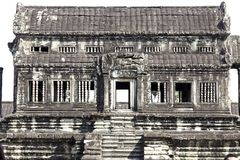 Inside Angkor Wat Temple Royalty Free Stock Image