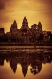 Inside Angkor Wat Royalty Free Stock Photos