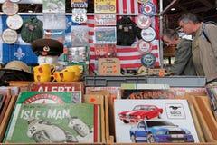 Inside the annual Motorshow Epoq'Auto Stock Photography