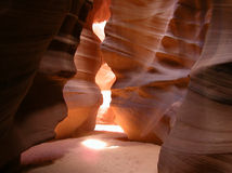 Inside Antelope Canyon 1 Stock Images