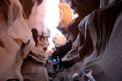 Inside Antelope Canyon Royalty Free Stock Photo