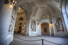 Inside arcade to Michaelerplatz Royalty Free Stock Photography