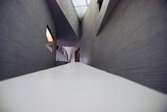 Inside architecture of Kiasma museum Stock Photography
