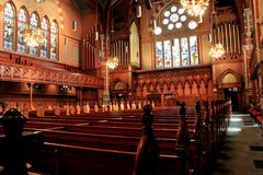 Inside architecture of Old South Church,Boston Stock Photo