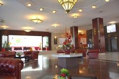 Inside ARO Palace Hotel, in  Brasov Stock Photo