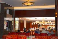 Inside ARO Palace Hotel, in  Brasov Stock Photos