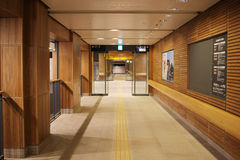 Inside of Asahikawa STATION AT Hokkaido, Japan. Royalty Free Stock Image