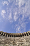 Inside of Aspendos Theatre Royalty Free Stock Images