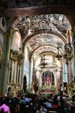 Inside Atotonilco Chapel Stock Images