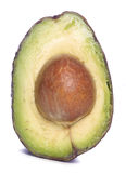 Inside of an avocado Stock Photography