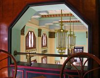 Inside the Bacardi building in Havana Cuba Stock Images