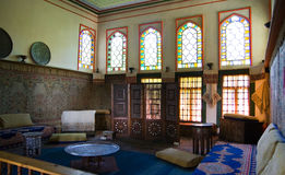 Inside the Bakhchisaray Palace. Interior. Inside the Bakhchisaray Palace. Interior in Bakhchisaray, Crimea Stock Photos