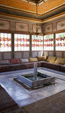 Inside the Bakhchisaray Palace. Interior. Inside the Bakhchisaray Palace. Interior of the Khan's Palace in Bakhchisaray, Crimea Royalty Free Stock Photos